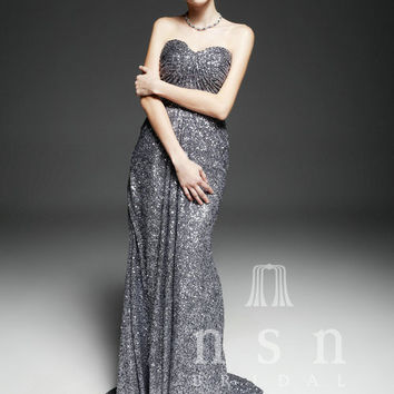 2013 Custom made Sexy Fit and Flare Sequins Prom Dress, Homecoming dresses, party dresses, Evening gown
