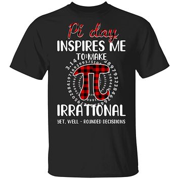 Pi Day Inspires Me To Make Irrational Red Plaid