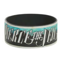 Pierce The Veil Collide With The Sky Rubber Bracelet