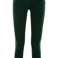 L'Agence - The Margot stretch-corduroy mid-rise skinny jeans