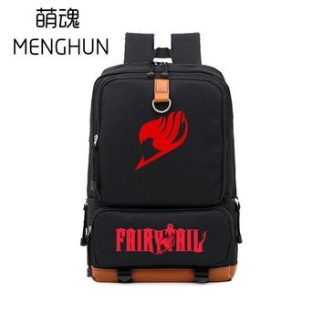 Japanese Anime Bag High quality Big contrast color backpack Fairy tail new design backpack for  fans  new backpack NB078 AT_59_4
