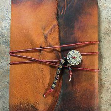 Medieval Leather Journal Hand Sewn Binding