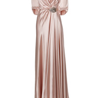 Jenny Packham - Silk Gown in Sugar