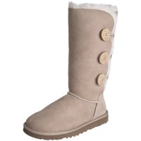 UGG Australia Women's Bailey Button Triplet Sand Sheepskin Boot 8 M US