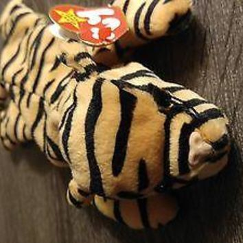 MWMT Rare Ty Beanie Baby STRIPES the  Tiger 1995 Style 4065 Waterloovill, Hants