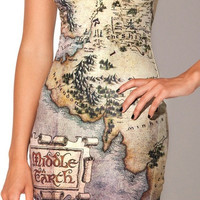 Womens Middle East Map Dress Hip Vest Skirts Mini Short Tank Dress Bodycon Leotard Sundress