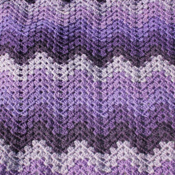Super soft Crochet from Caron Cake Bumbleberry Granny Ripple, Handmade Newborn Baby Blanket, Photography Props Blanket, Car seat tent canopy