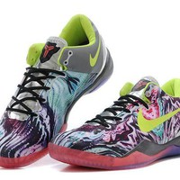 ONETOW VAWA Nike Zoom Men's Kobe 8 System 639655-900 Basketball Shoes Purple