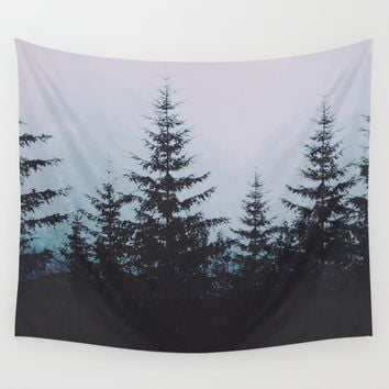 Atelophobia Wall Tapestry by Lostfog Co↟