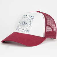 Billabong Moon Lover Womens Trucker Hat Burgundy One Size For Women 25970332001