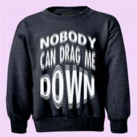 "One Direction ""Nobody Can Drag Me Down"" Crewneck 