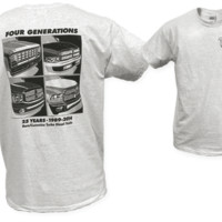 Ram/Cummins FOUR GENERATIONS T-Shirt-Geno's Garage