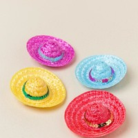 Sombrero Party Hats - Set of 4 Clips