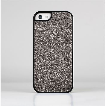 The Black Glitter Ultra Metallic Skin-Sert Case for the Apple iPhone 5c