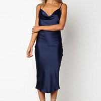 Persia Dress - Navy