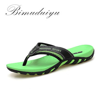 Summer Fashion Lovers Flip Flops Anti-slip Couple Handmade Word Drag Comfortable Classic Massage Beach Slippers
