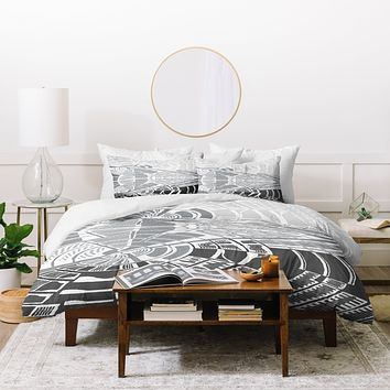 Karen Harris Post Modern Monochromatic Duvet Cover
