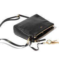 The Pearl - Convertible Leather Crossbody Bag - Lo & Sons