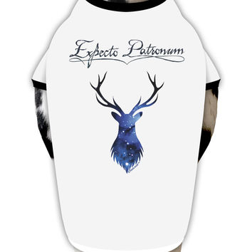 Expecto Patronum Space Stag Dog Shirt