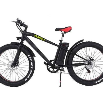 """Nakto Fat Tire 36V Electric Bicycle 26"""" Cruiser"""