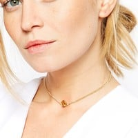 ASOS Ditzy Rose Choker Necklace