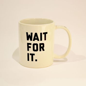 Hamilton Wait For It Mug - Souvenirs