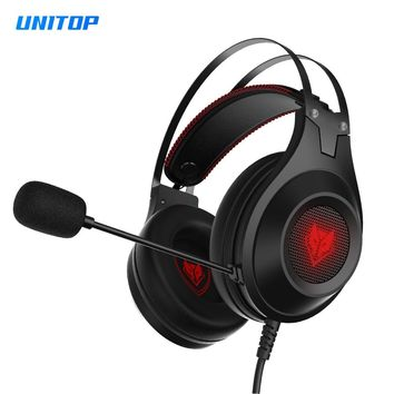 Gaming Headsets Earphones Stereo Sports Audifonos Noise Cancelling Bass Headphones With Mic for Computer/PS4/New Xbox One/Laptop