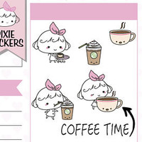 """hand drawn pixie stickers -10% OFF enter code """"WELCOME"""" von SimplyCutePaperCo"""