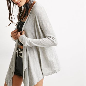 Draped Open-Front Cardigan | Forever 21 - 2000114985