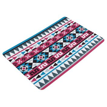 Trendy Aztec Geometric Pattern Floor Mat