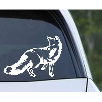 Fox (ver b) Die Cut Vinyl Decal Sticker