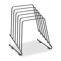 Workstation? Step File? Ii Wire Organizer Rack, 5 Sections