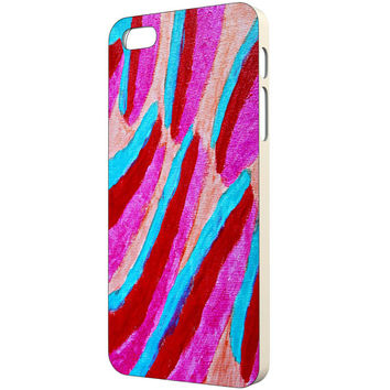 Painting iPhone Case - FREE Shipping to USA bright pink blue purple reds original art abstract colorful slim hard plastic cases artist cute