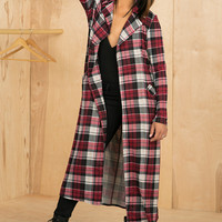 Plaid Cardigan- FINAL SALE