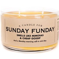 Sunday Funday Mimosa Scented Candle - Smells Like Mimosas & Cheap Gossip