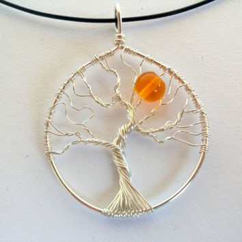 FREE SHIPPING Tolkien inspired wire pendant