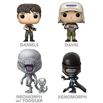 POP Alien Covenant Vinyl Figures