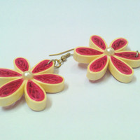 Paper Earring - Quilled earring
