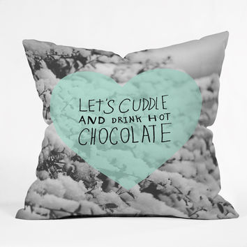 Allyson Johnson Winter Time Love Throw Pillow