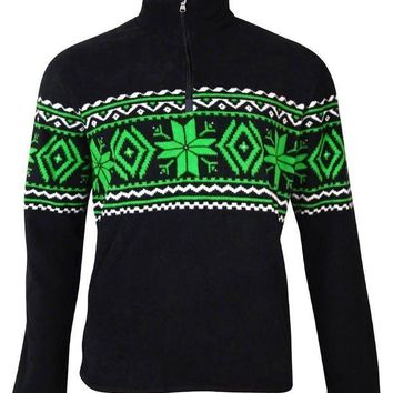 Polo Ralph Lauren Men's Mock Zip Nordic Fleece Pullover
