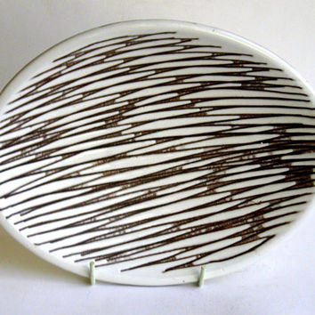 1950s Mari Simmulson Scraffito Mars Bowl, Upsala Ekeby Sweden, Scandinavian   Modernist abstract designer pottery, ceramic MCM