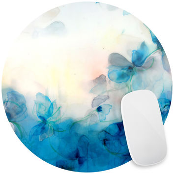 Floral Study Twelve, Floral, Painting, Multicolored Mouse Pad Decal