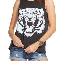 Chaser 'Le Tigre' Jersey Muscle Tank | Nordstrom