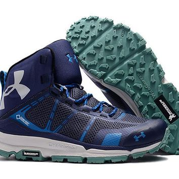 Under Armour UA Verge Michelin Mid - Blue Men Hiking Shoes US8-11