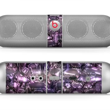 The Purple Mercury Skin for the Beats by Dre Pill Bluetooth Speaker