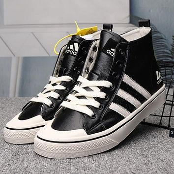 ADIDAS Women Fashion High-Top Sneakers Sport Shoes