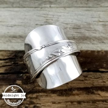 Meadowbrook Demitasse Spoon Ring