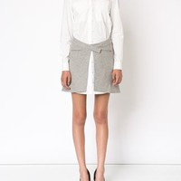 Derek Lam 10 Crosby Wrap Skirt Combo Shirt Dress - Derek Lam 10 Crosby - Farfetch.com