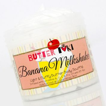 BANANA MILKSHAKE Body Butter Soufflé 4oz