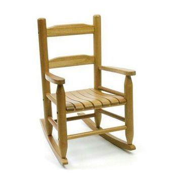 Childs Rocking Chair Natural